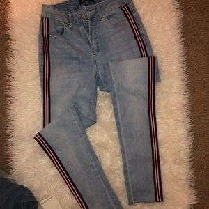 Fashion Nova light wash jeans